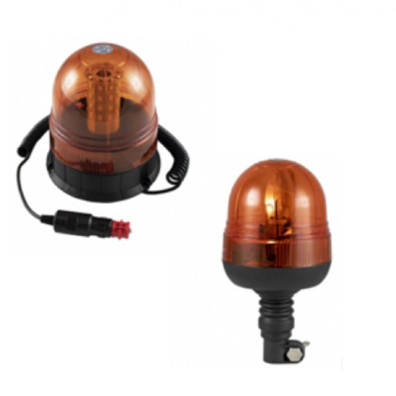Farol Rotativo 12V LED c/ Base p/ Turbo