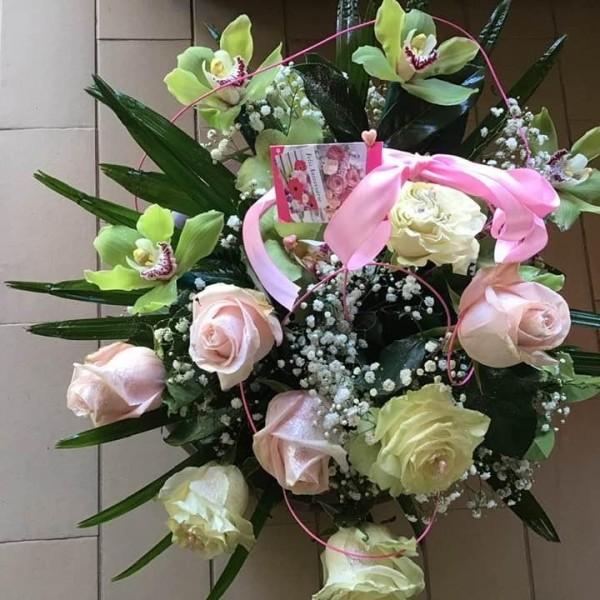 Florista a Orquídea